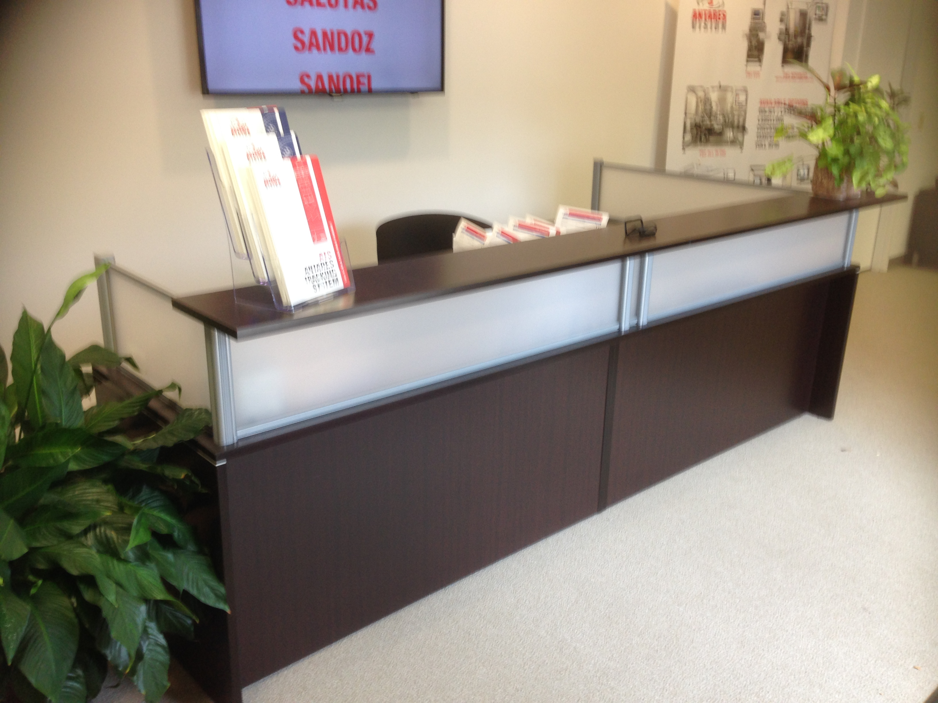 <strong>Item # </strong>Reception Desks